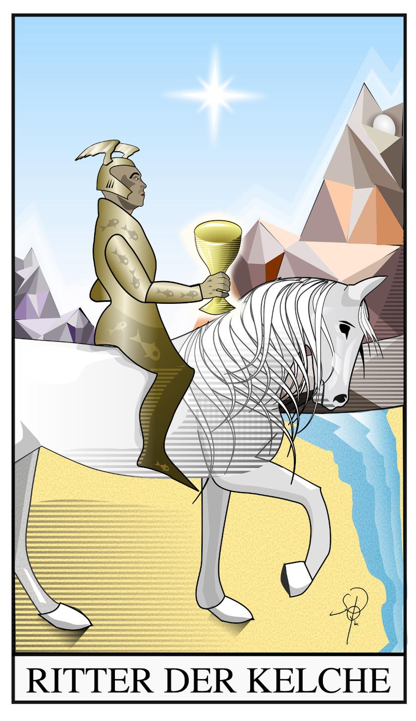 Tarot Ritter der Kelche