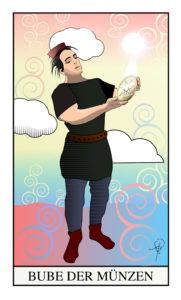 Tarot Bube der Münze