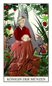 Tarot Königin der Münzen
