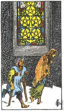 five of pentacles meaning relationship