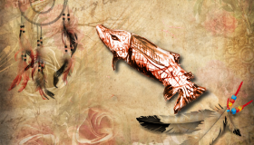 Indianer Sternzeichen Lachs
