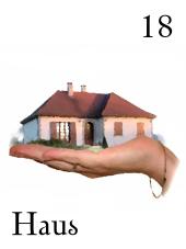 Zigeunerkarte Haus