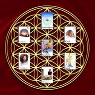 Blume des Lebens Zigeunerkarten