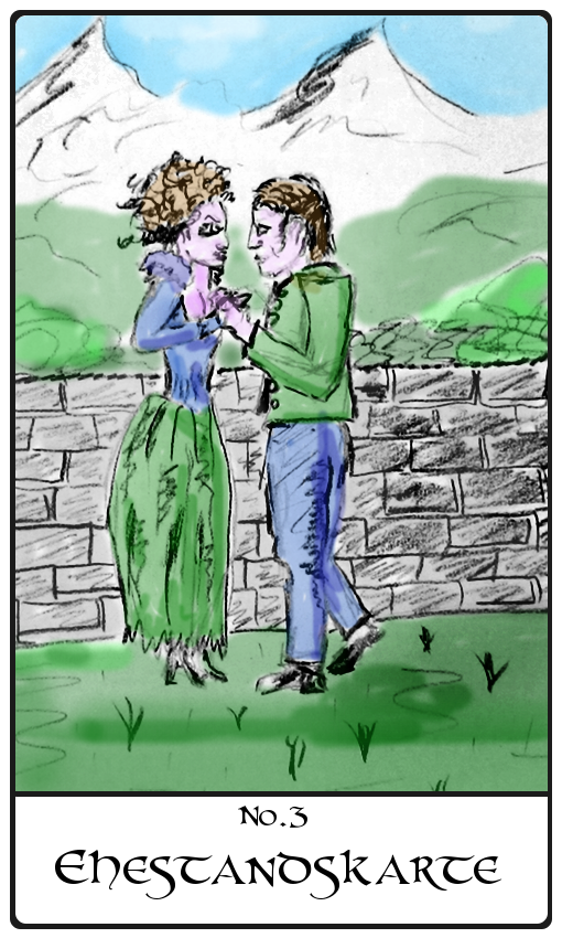Kipperkarte Ehestandskarte