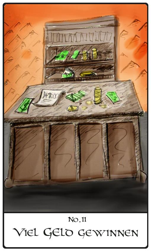 Kipperkarte Viel Geld Gewinnen