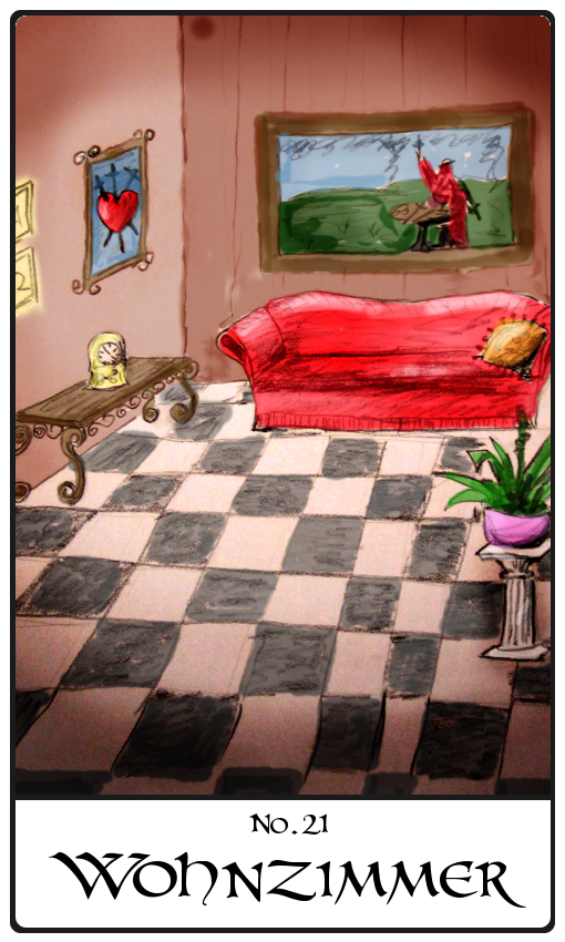 Kipperkarte Wohnzimmer