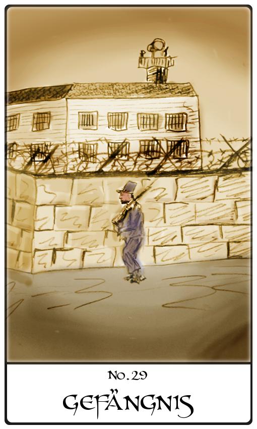Kipperkarte Gefängnis