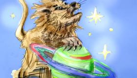 Planeten im Löwe