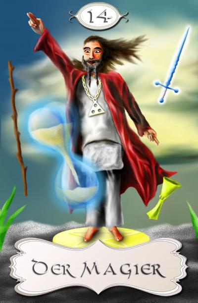 Seherkarte Magier