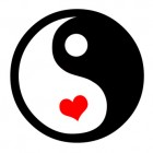 Yin Yang With Hearts