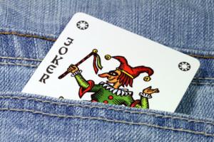 Wahrsagekarte Joker