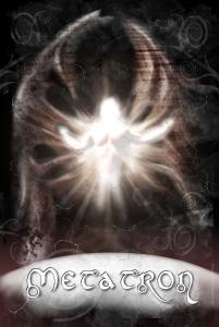 Engelkarte Metatron