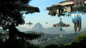 Alien spaceships