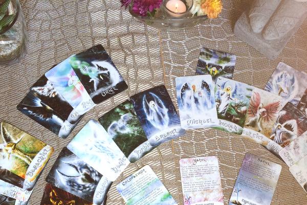 Engelkarten Kartendeck