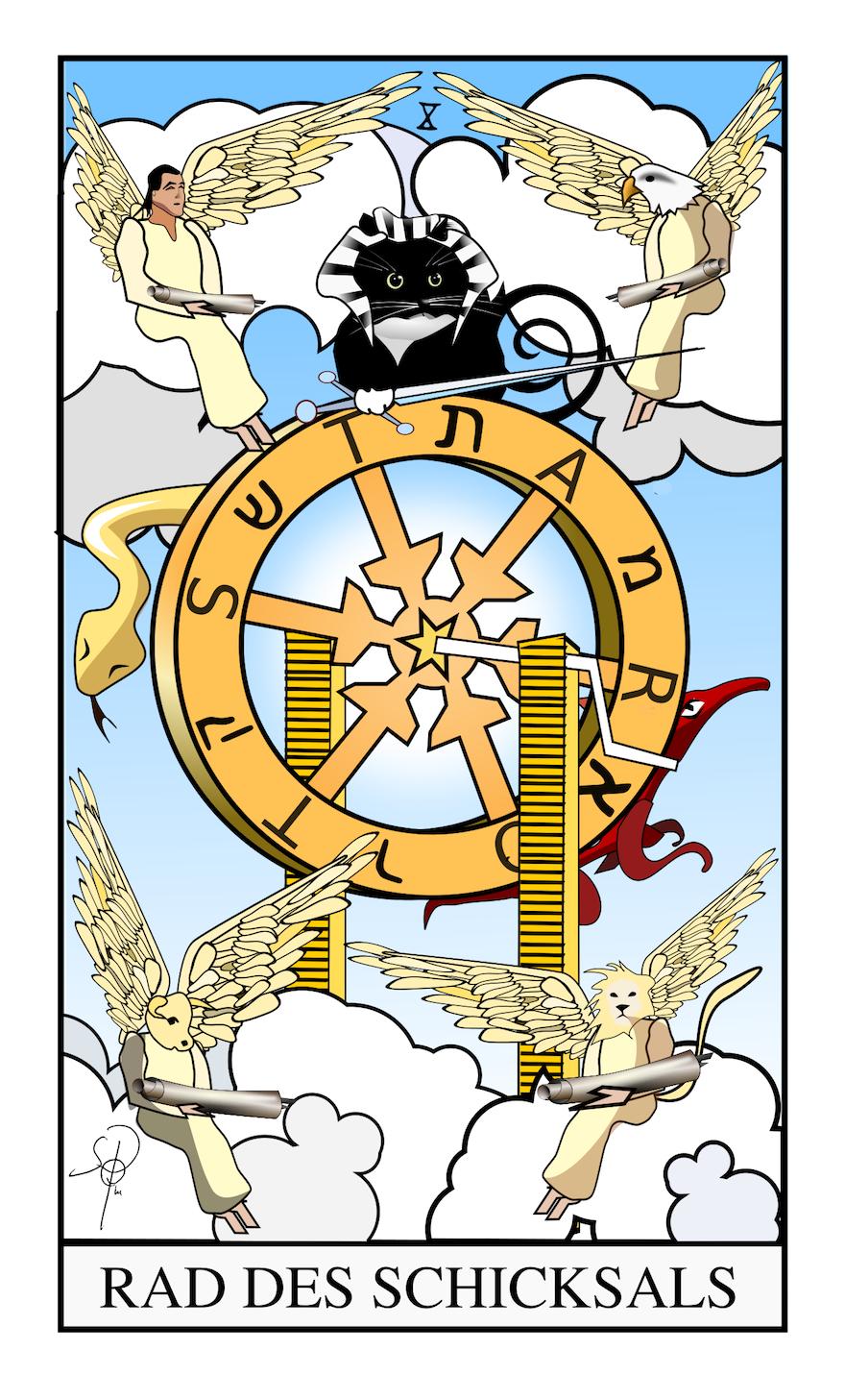 Tarot - Das Schicksalsrad