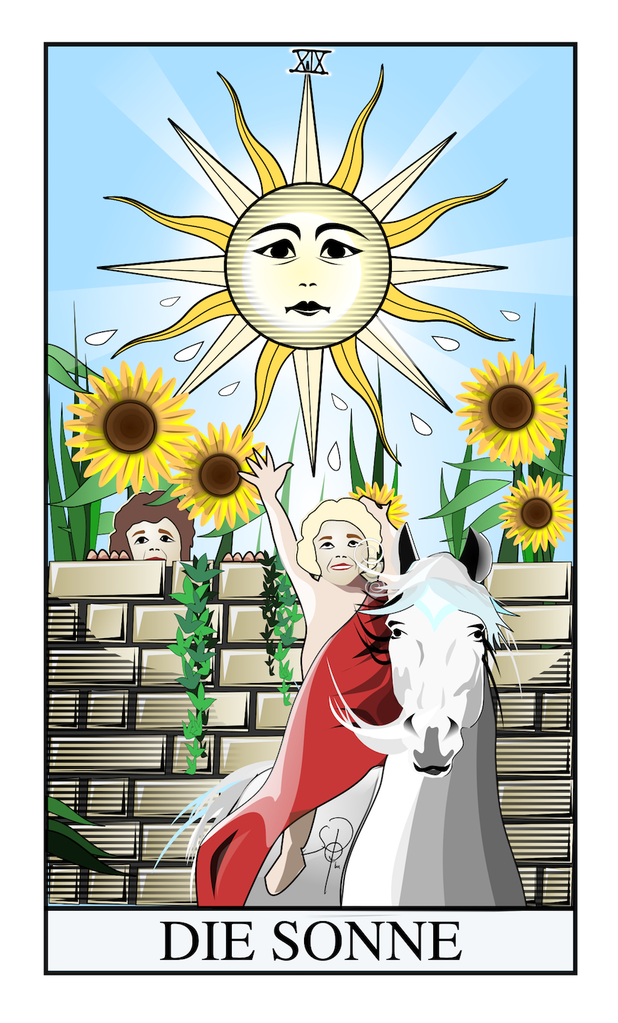 Tarotkarte Sonne