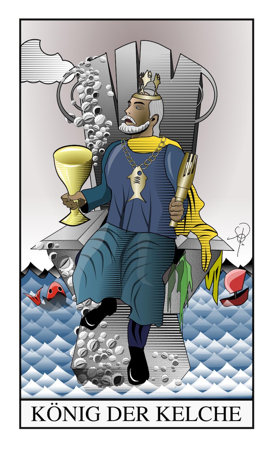Tarot König der Kelche