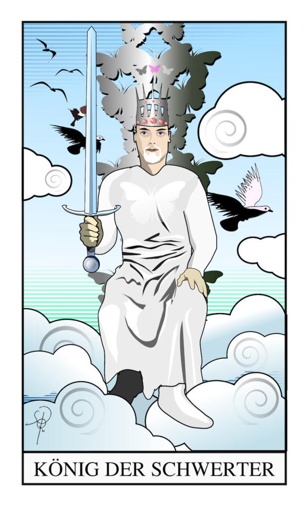 Tarot – König der Schwerter