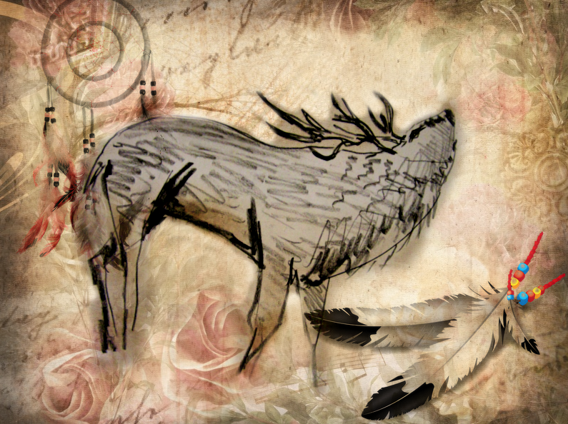 Indianer Sternzeichen Hirsch