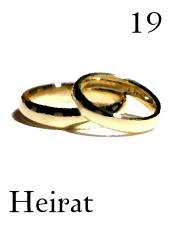 Zigeunerkarte Hochzeit