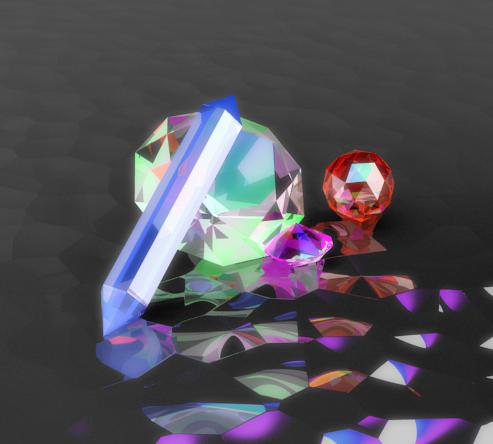 Kraft der Kristalle