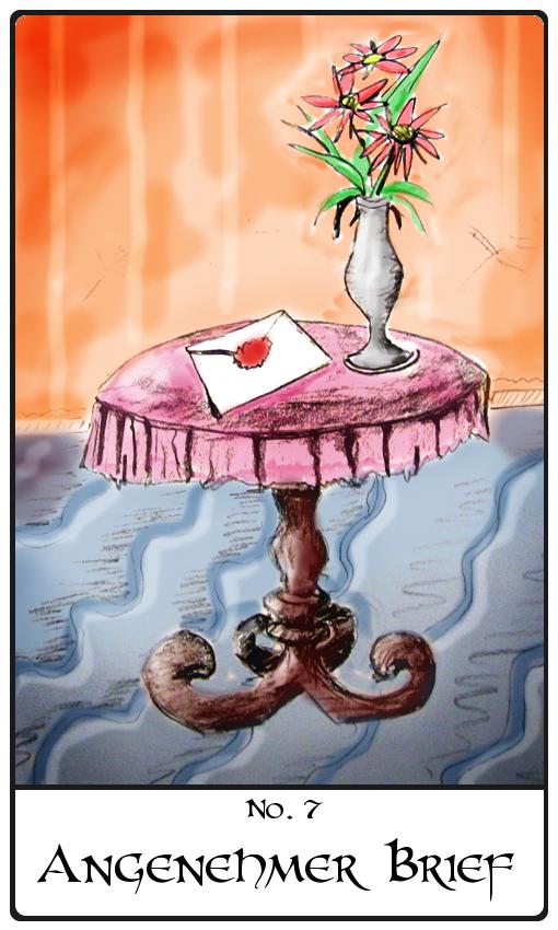 Kipperkarte angenehmer Brief