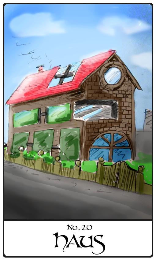 Kipperkarte Haus