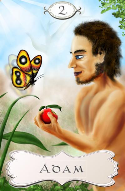 Seherkarte Adam 02