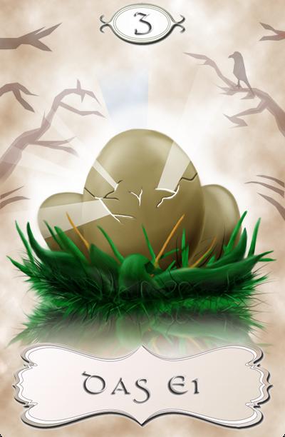 Seherkarte Das Ei