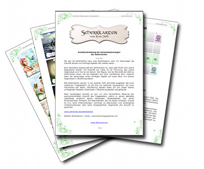 Seherkarten Booklet