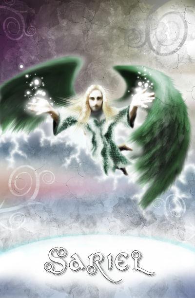 Engelkarte Sariel