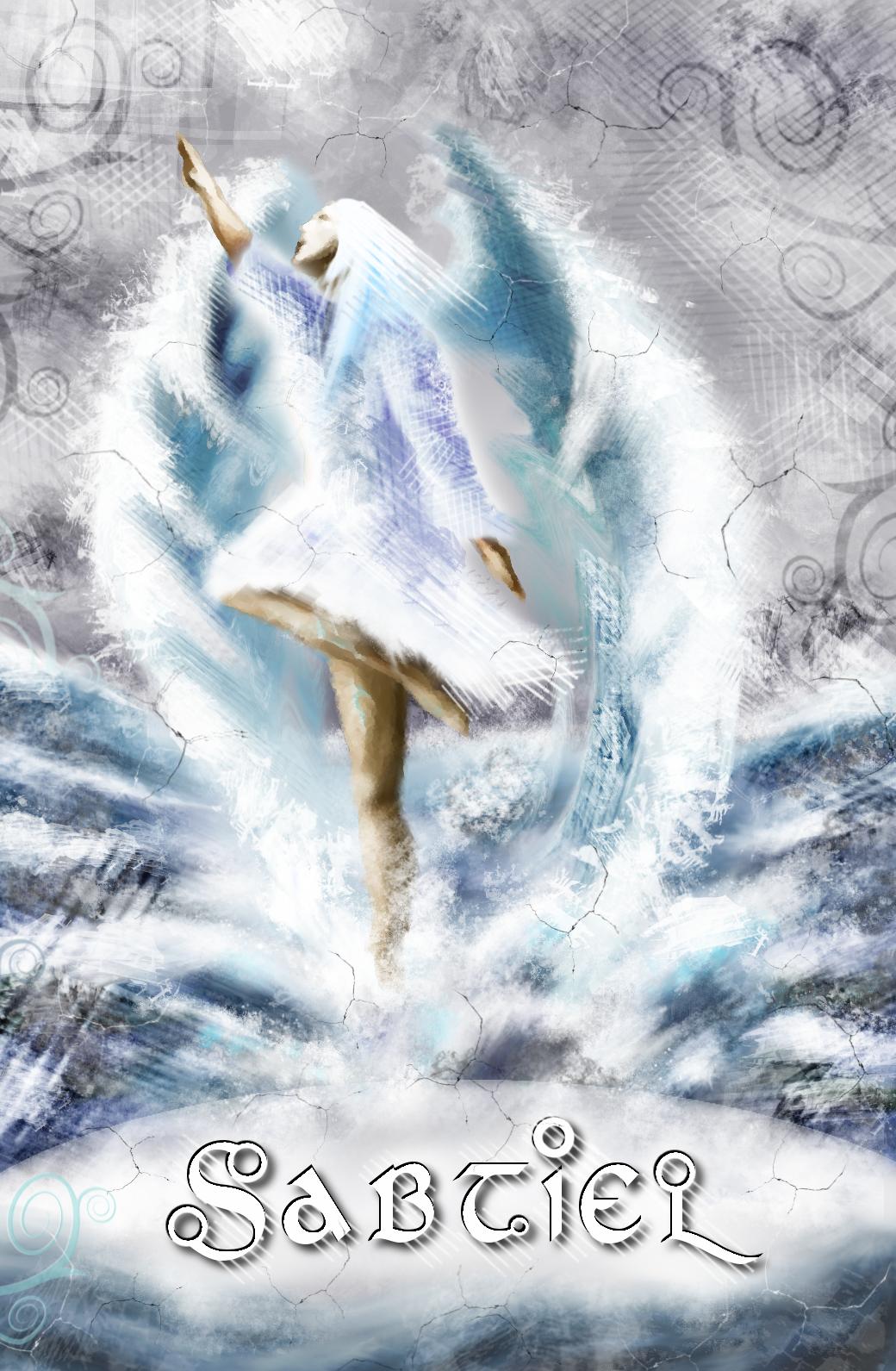 Engelkarte Sabtiel