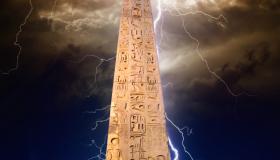 Mystischer Obelisk