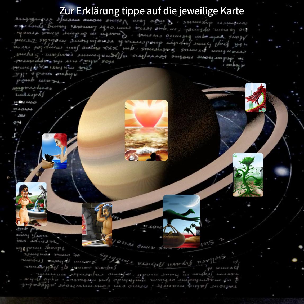 Saturnlegung - wie werde ich glücklich