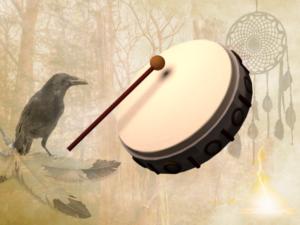 Schamanische Trommel